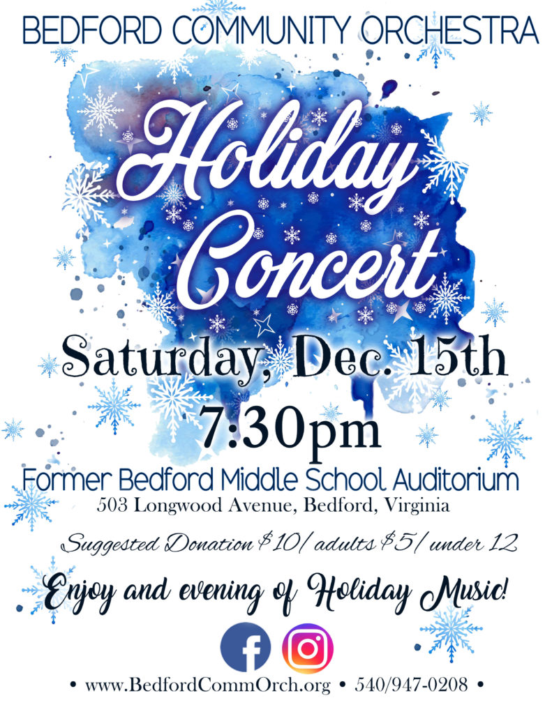 holiday concert flyer 2018