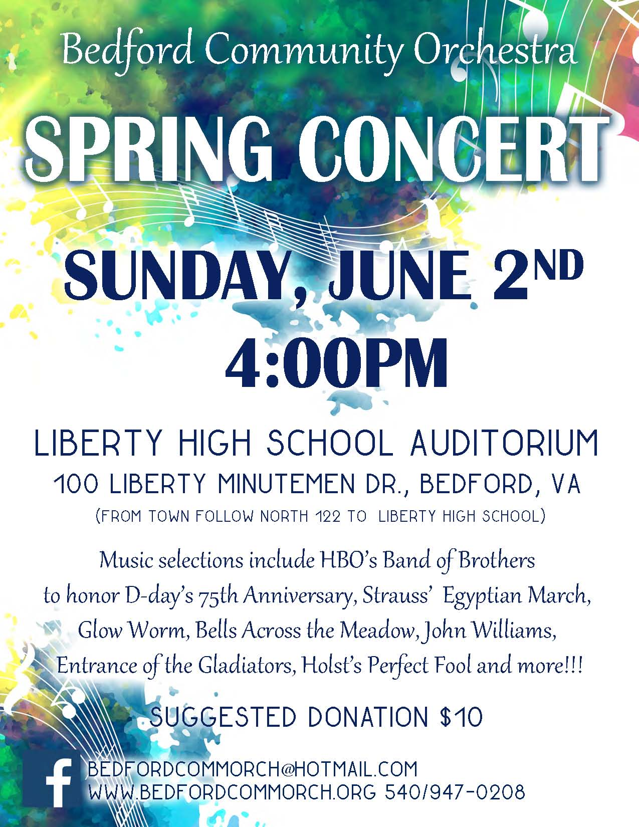 Spring Concert 2019 | The Bedford Community Orchestra